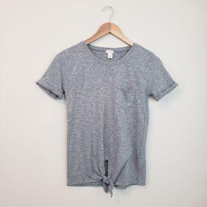 J. CREW Gray Pocket T-Shirt